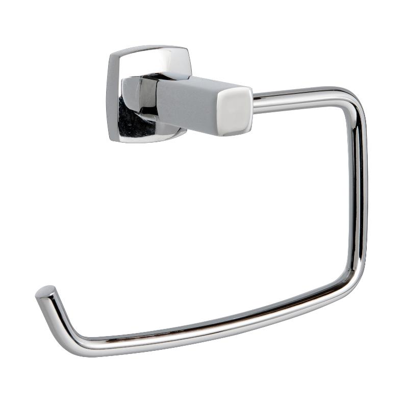 Miller Denver Toilet Roll Holder Chrome 165mm x 150mm x 42mm x 37mm 6410C