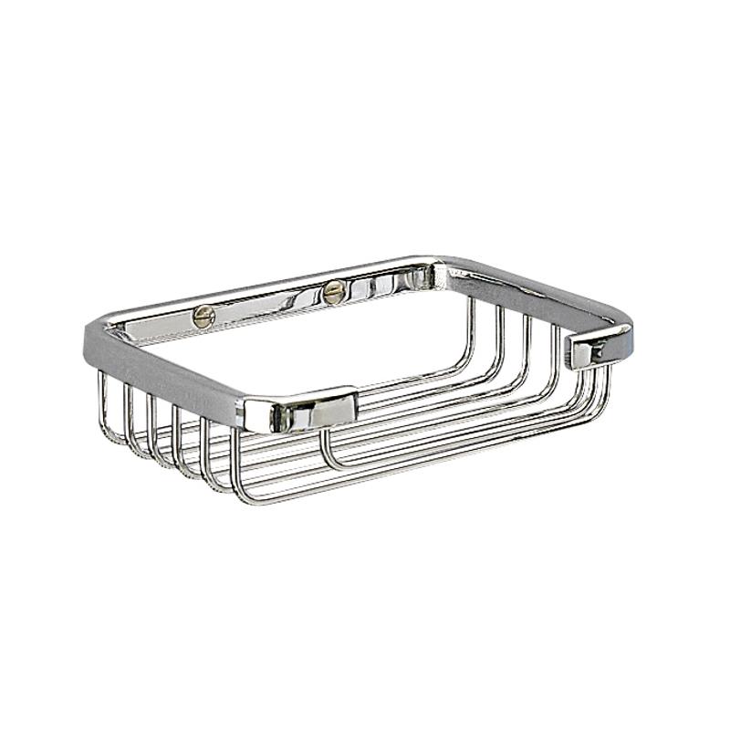 Miller Soap Basket Chrome 130mm x 95mm x 35mm 650C