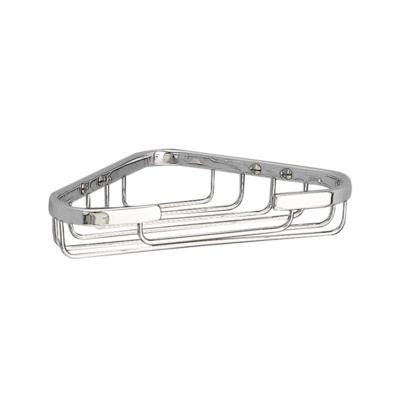 Miller Corner Soap Basket Chrome Plated 175mm X 115mm X 35mm 651C