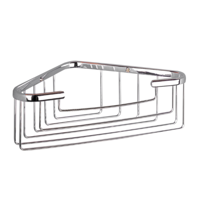 Miller Deep Corner Soap Holder Chrome 250mm x 150mm x 80mm 656C