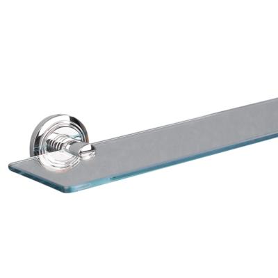 Oslo Shelf Chrome Plated (toughened Glass) 500mm x 125mm 8002C