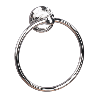 Oslo Towel Ring Chrome Plated 165mm x 55mm 8005C