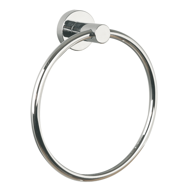 Miller Bond Towel Ring Chrome 170mm x 45mm 8705C