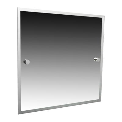 Miller Atlanta Bevelled Mirror Chrome 420mm x 500mm 8800C