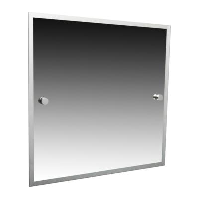 Miller Atlanta Bevelled Mirror Chrome 420mm x 500mm 8800C