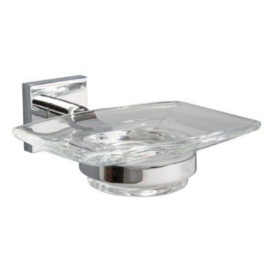 Miller Atlanta Soap Dish Chrome Plated 130mm x 125mm x 45mm 8804C