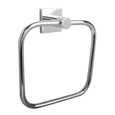 Miller Atlanta Towel Ring Chrome 165mm x 185mm x 45mm 8805C