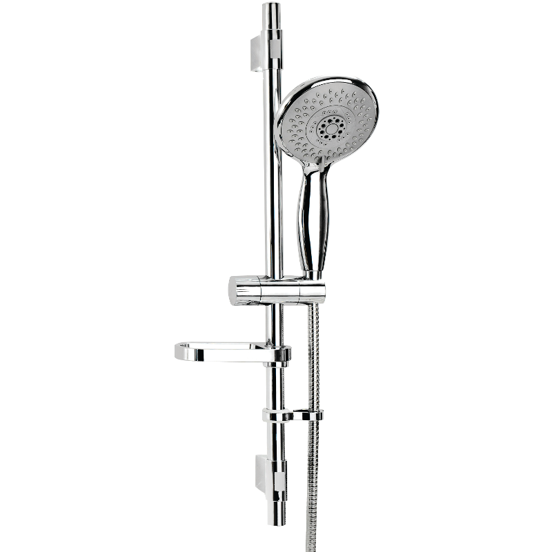 Eco Contour Four Function Shower Set Chrome 655mm AM158541