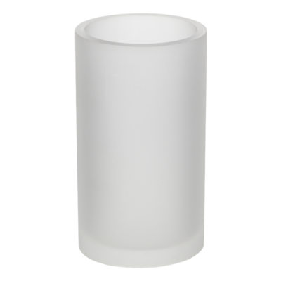 Croydex Kingsley Tumbler Frosted White FS611813