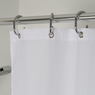 Croydex High Performance Shower Curtain White 2000mm x 2000mm GP85107