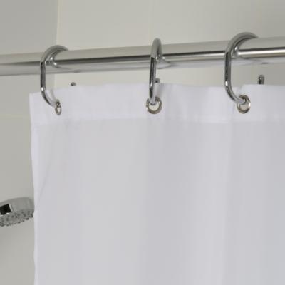 Croydex High Performance Shower Curtain White 2000mm x 2000mm GP85107