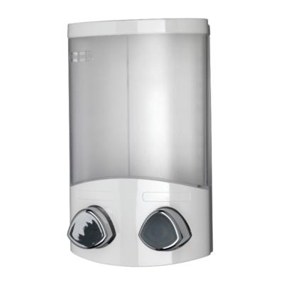 Euro Soap Dispenser Duo - White 200mm x 130mm x 80mm PA660622