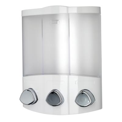 Euro Dispenser Trio - White 230mm x 180mm x 100mm PA660722