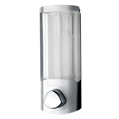 Croydex Euro Dispenser Uno Chrome Plated 200mm x 80mm x 80mm PA660841