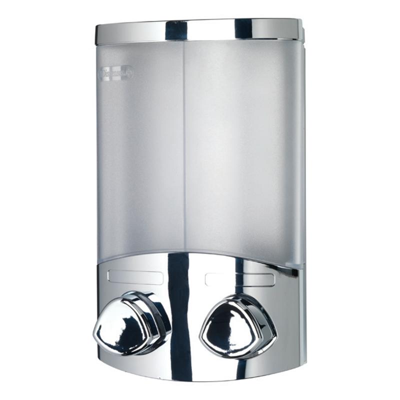 Euro Dispenser Duo - Chrome 200mm x 130mm x 80mm PA660941