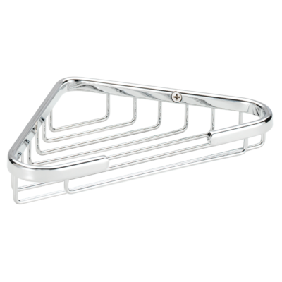 Croydex Medium Corner Soap Dish Chrome Plated 30mm X 205mm X 125mm QA100941