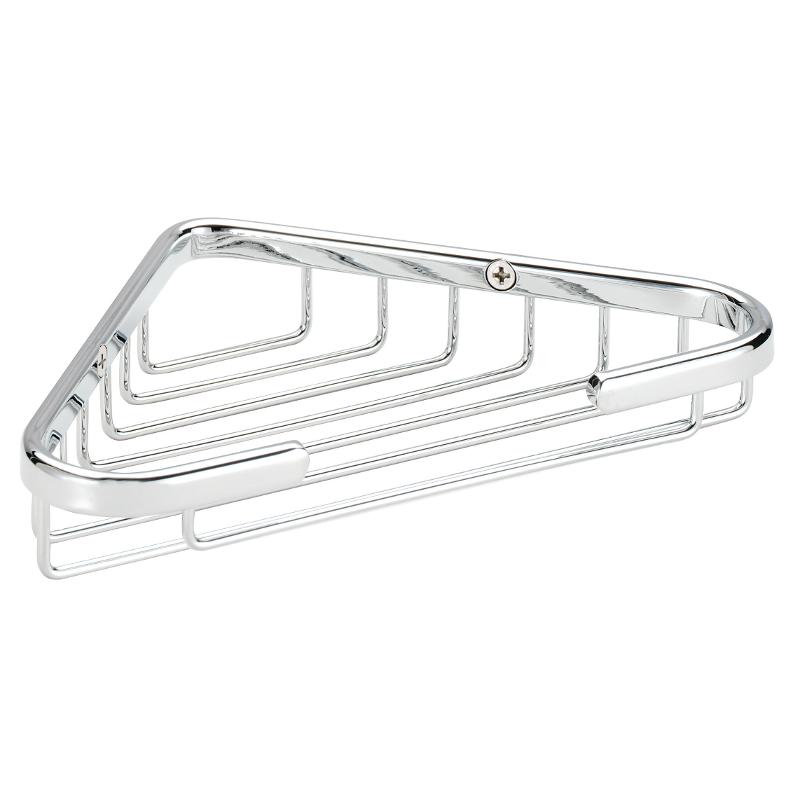 Croydex Medium Corner Soap Dish Chrome Plated 30mm X 205mm X 125mm QA100941