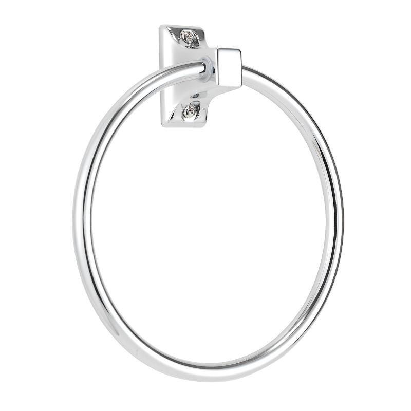 Sutton Towel Ring Chrome Plated 170mm x 150mm x 42mm QM731541