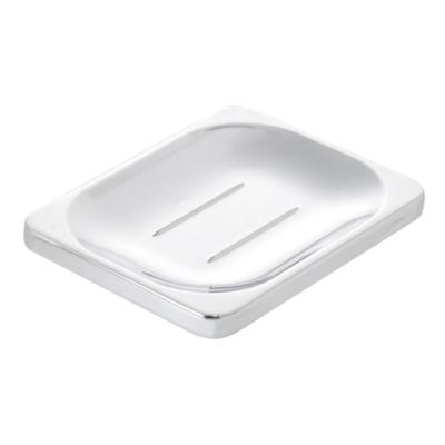 Sutton Soap Dish Chrome Plated 24mm x 100mm x 80mm QM731941
