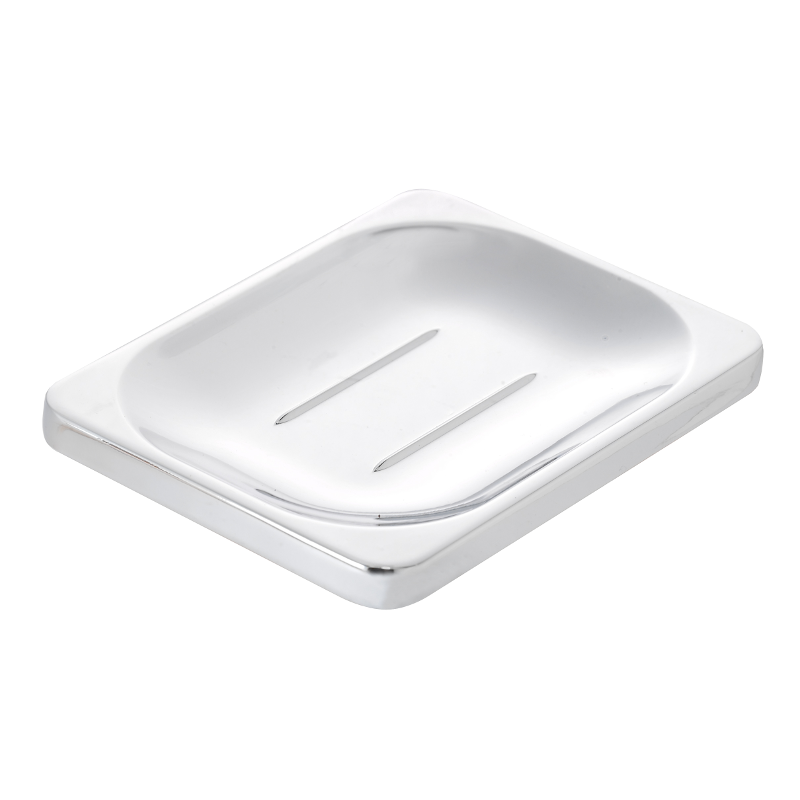 Sutton Soap Dish Chrome Plated 24mm x 100mm x 80mm QM731941