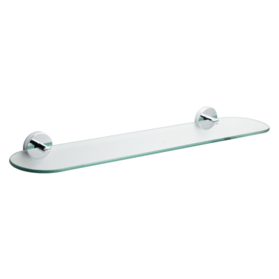 Croydex Romsey Glass Shelf 185mm x 162mm x 43mm QM741441