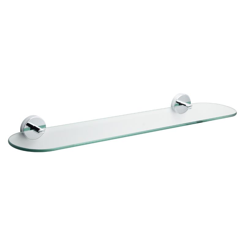 Croydex Romsey Glass Shelf 185mm x 162mm x 43mm QM741441