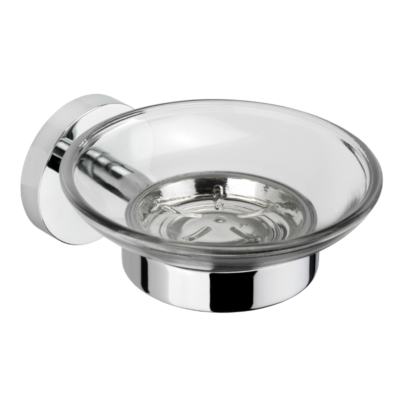 Croydex Romsey Soap Dish & Holder Chrome Plated 53mm x 690mm x 73mm QM741941