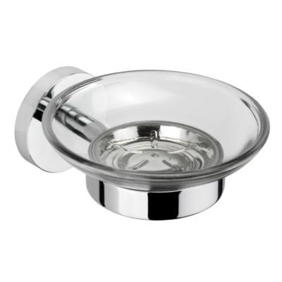 Croydex Romsey Soap Dish & Holder Chrome Plated 53mm x 690mm x 73mm QM741941
