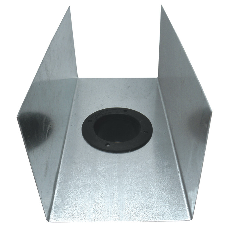 5 25 X 6 Galvanised Box Gutter Irish International Trading Corporation
