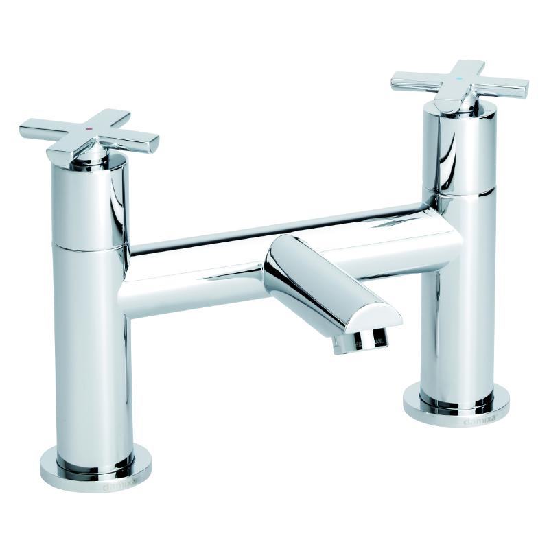 Ixia Deck Bath Filler Chrome TB120341