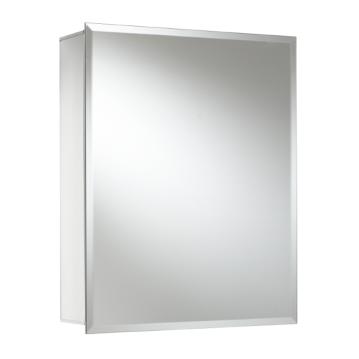 Croydex Winster Single Door Aluminium Cabinet 510mm x 405mm x 133mm WC101169
