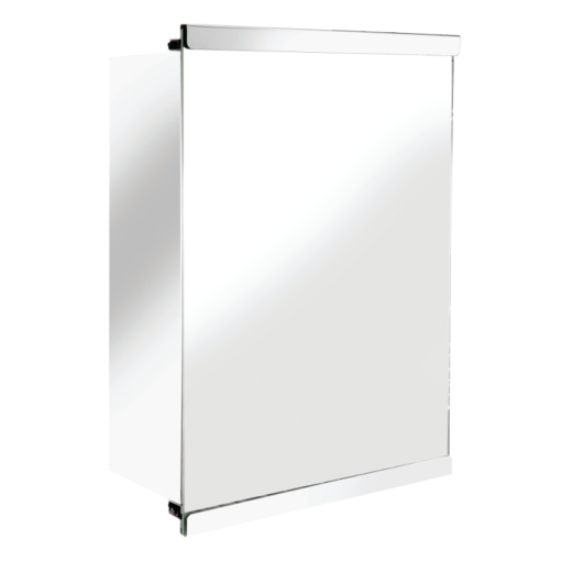 Tara Single Sliding Door Stainless Steel Cabinet 500mm x 350mm x 160mm WC826005