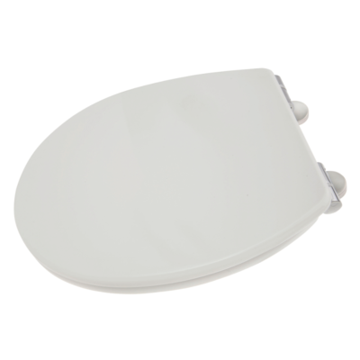 Croydex Soft Close Toilet Seat White With Easy Fit Hinges WL400122H