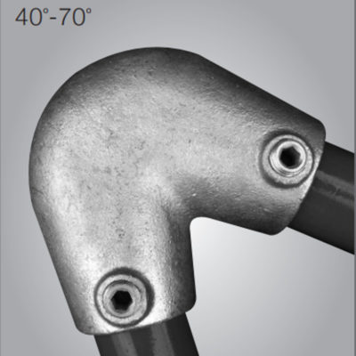Key Clamp 123 Acute Angle Elbow