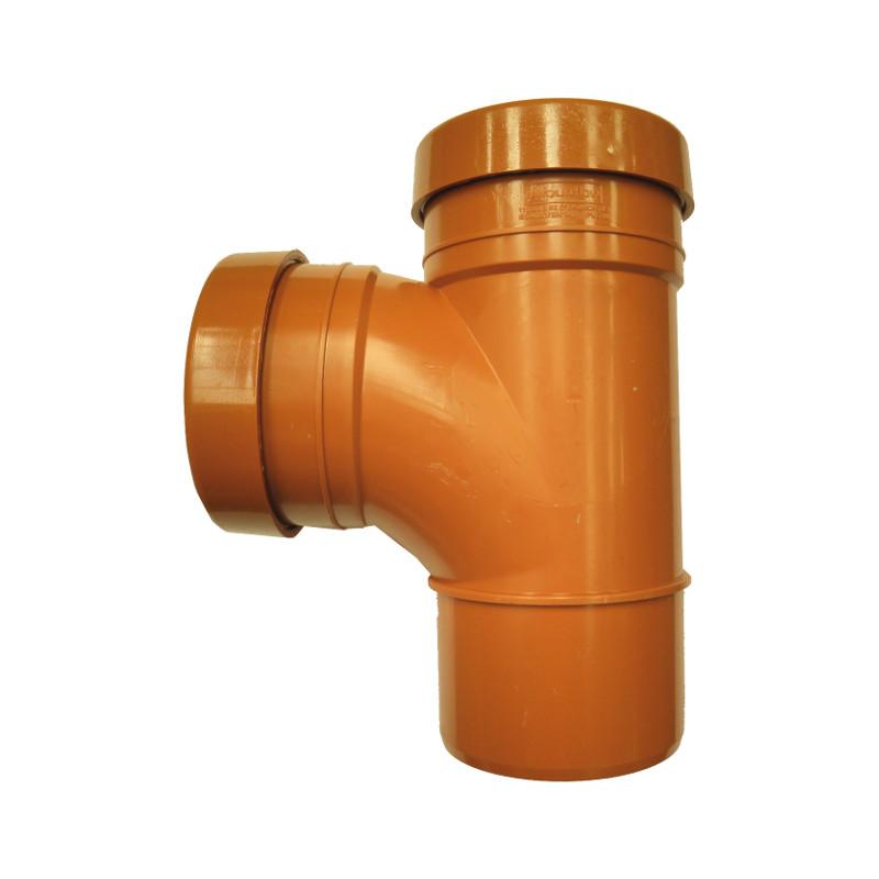 Sewer Tee Double Socket