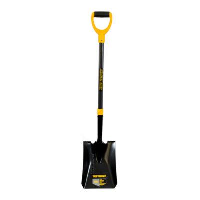 True Temper Square Mouth Shovel Fibreglass Handle D Grip