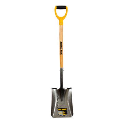 True Temper Square Mouth Shovel D Grip Wood Handle