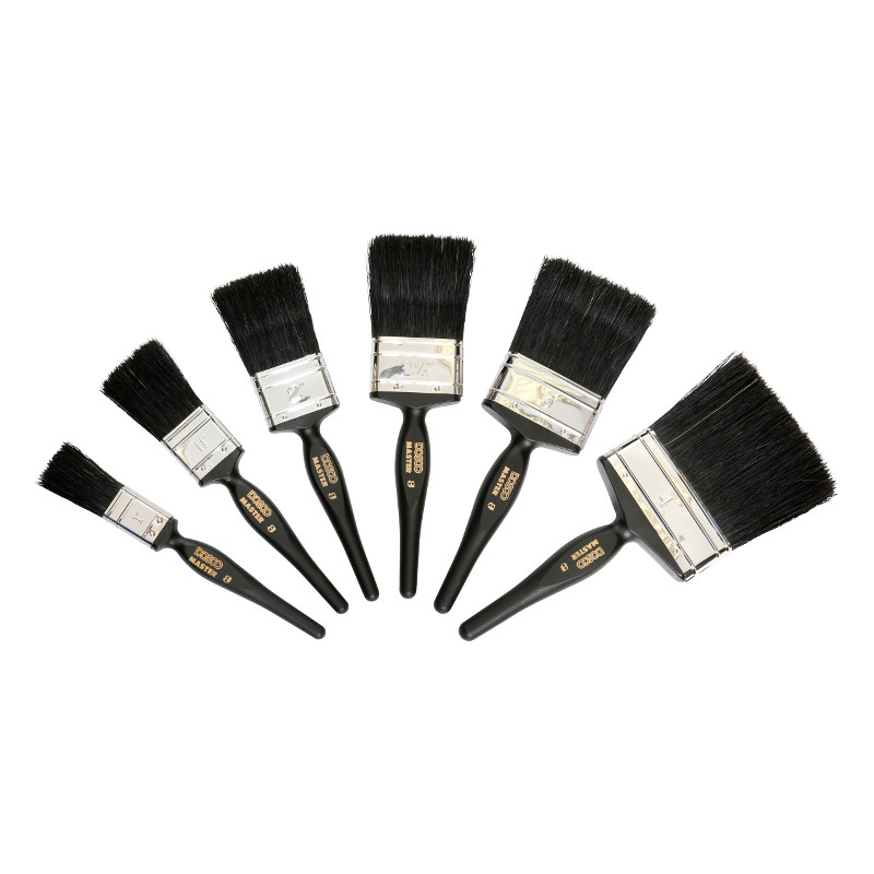 Master paint brush range
