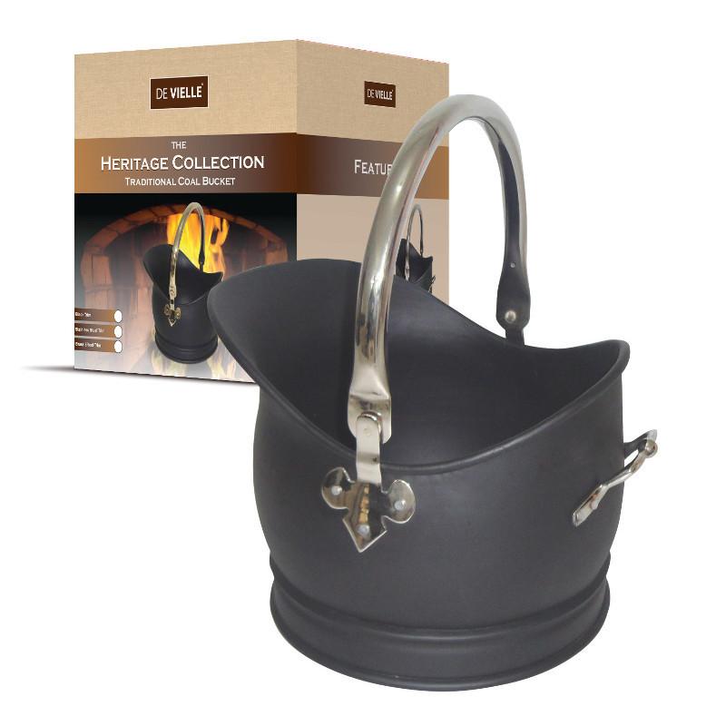 De Vielle Coal Bucket Black