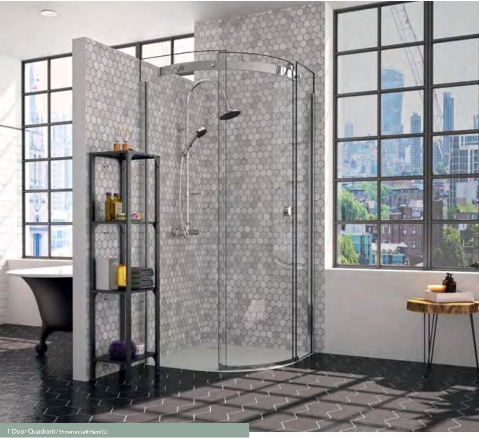 Merlyn 10 Series 1 Door Quadrant Shower Door Iitc Cork