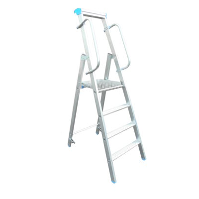 Platform Stepladder with Handrails