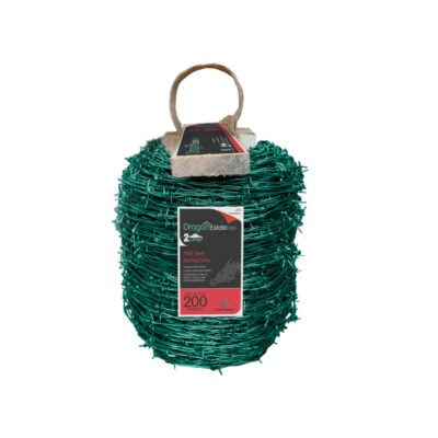 Estate Green Dragon Mild Steel Barb Wire